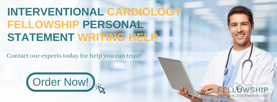 interventional cardiology fellowship personal statement writing help