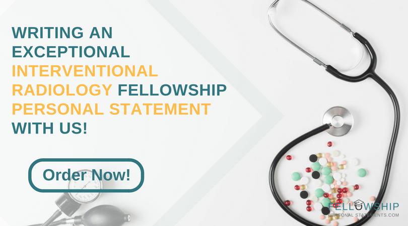 interventional radiology fellowship application tips
