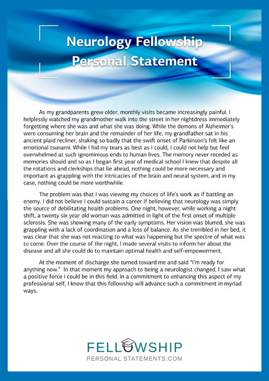 Personal statement writing help