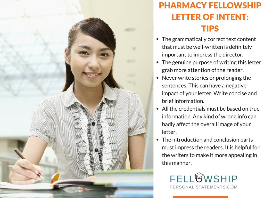 fellowship letter of intent tips