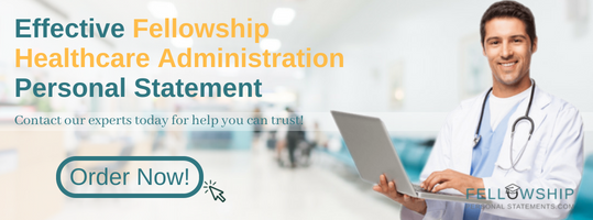 writing healthcare administration personal statement