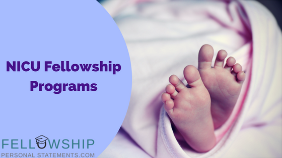 NICU fellowship programs