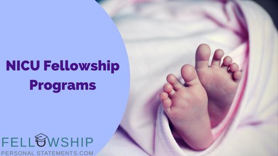 NICU fellowship programs