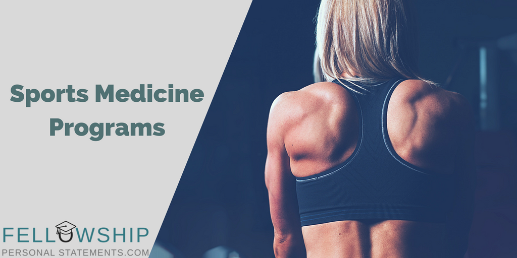 sports medicine programs