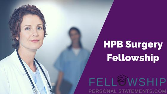 hpb surgery fellowship