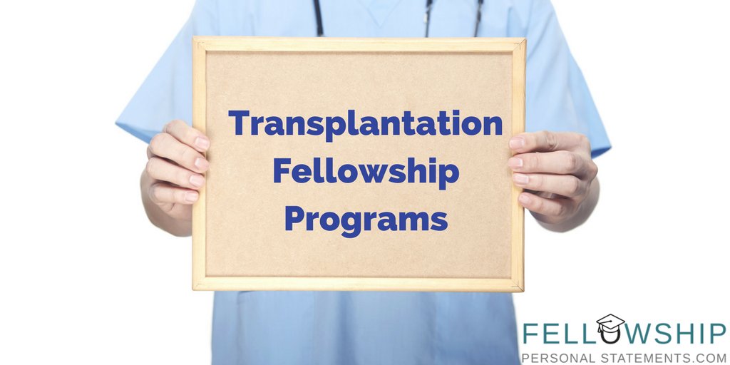 transplantation fellowship programs
