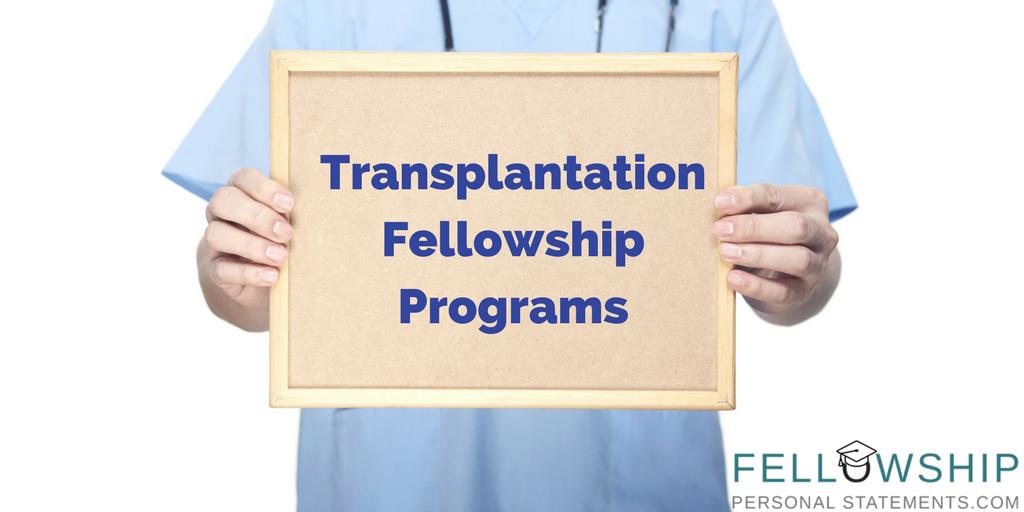 transplantation fellowship programs