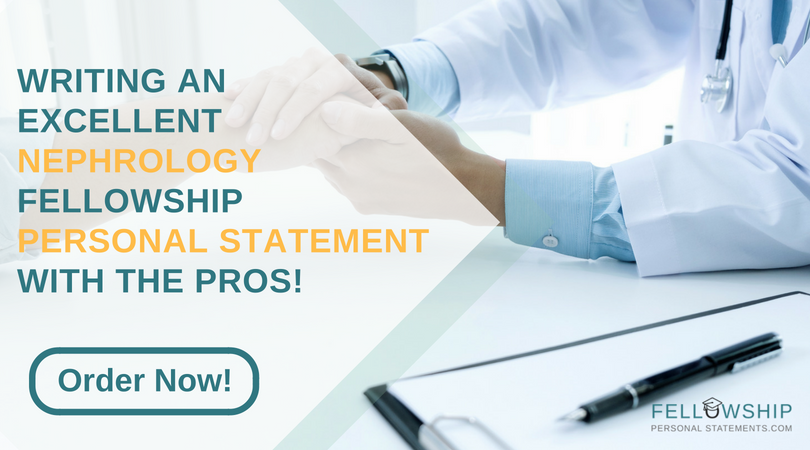 nephrology fellowship personal statement experts