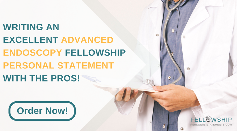 writing advanced endoscopy fellowship personal statement