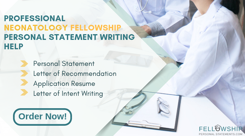 neonatology fellowship personal statement writing service